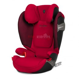 CYBEX SOLUTION S-FIX FERRARI Racing Red 15-36 kg ISOFIX LICENCJA